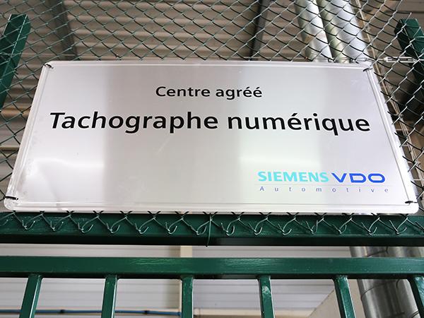 Tachographes numériques