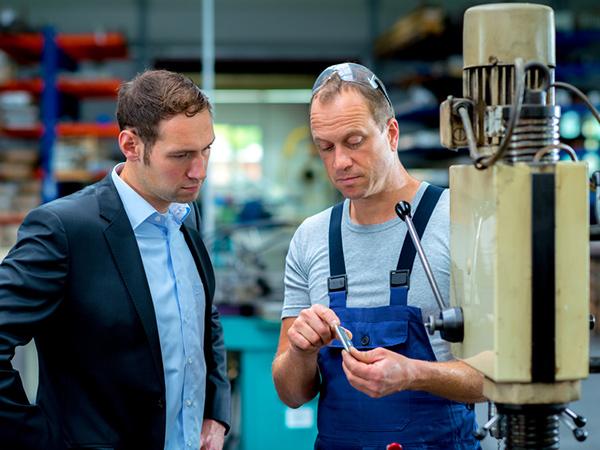 Réparation de machines de production